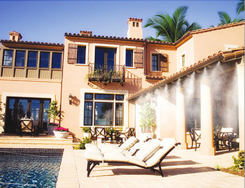 Professional-Grade Misting System: Patio Furniture tropical outdoor products