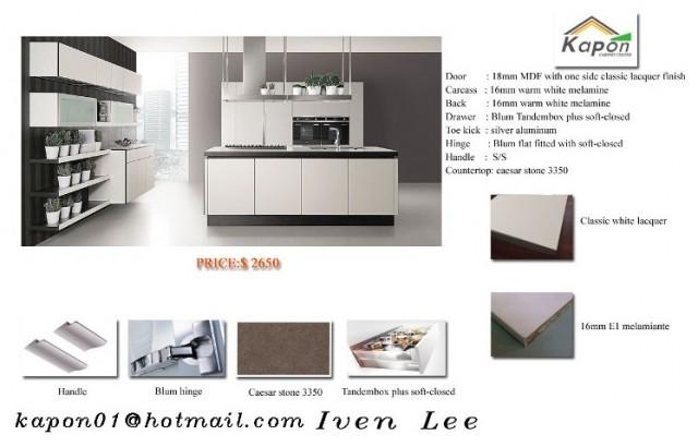 Modern Ktichen Cabinet China Factory Sale Direct Modern