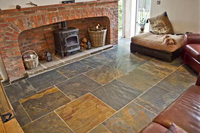 Rustic Copper Riven Slate Tiles Wall And Floor Tile