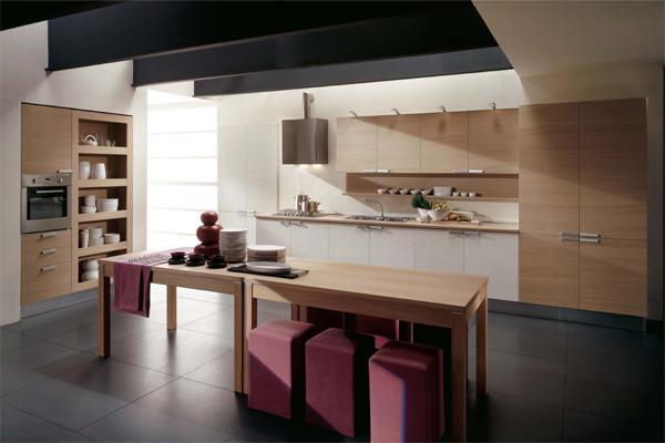 Mia kitchen collection aran cucine italy modern for Houzz cucine