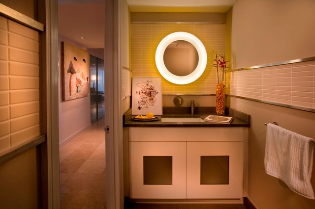 DKOR Interiors - Interior Design in the Peninsula, Aventura, FL modern-bathroom