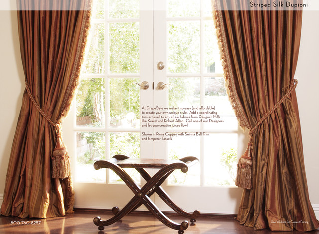 traditional-curtains.jpg 640×470 pixels   Fish House   Pinterest