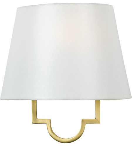 Quoizel LSM8801GY Millennium 1 Light Wall Sconce, Gallery Gold contemporary-wall-sconces