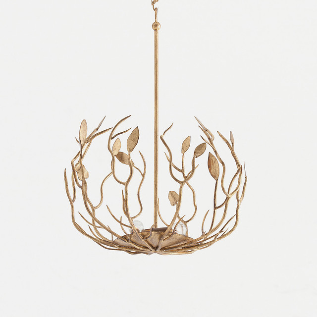 eclectic chandeliers by Terrain