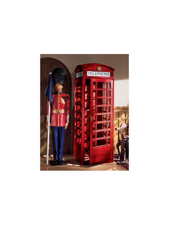 furniture - Authentic Replica British Telephone Booth
