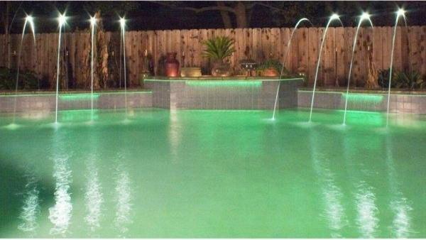 Fiberstars Color Light Streams Large Laminar traditional-swimming-pools-and-spas