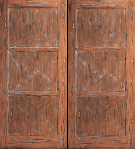 japanese style prehung double door hand carved solid