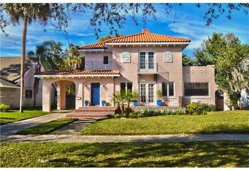 Shai and ric 39 s spanish revival Home plans with detached guest house