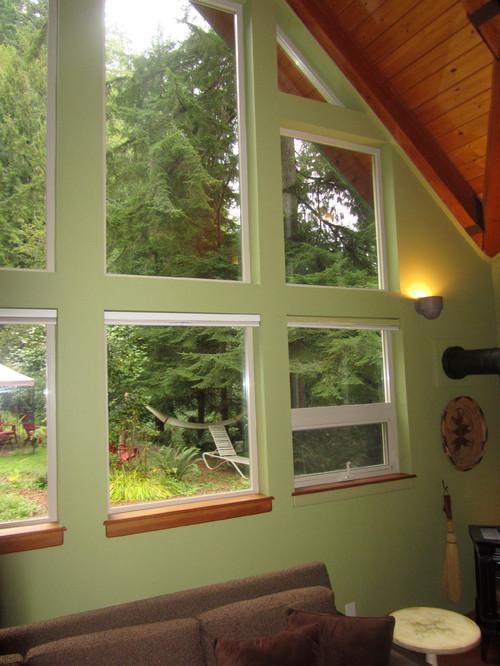 Beige Vinyl Window Interior Frames Frustration