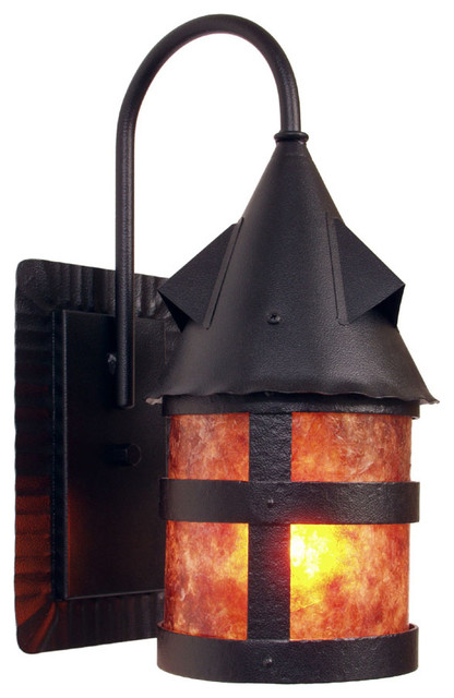 Wall Sconces Location : Wet Sconce - PORTLAND - Wet Location - Rustic - Outdoor Wall Lights And Sconces - by Steel ...