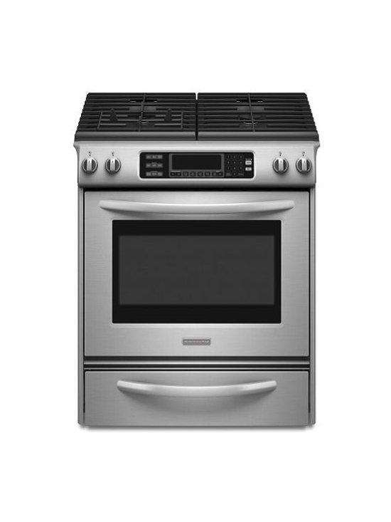 "KitchenAid 30"" Gas Range -"