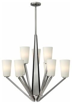 Hinkley Lighting | Victory 9 Light Chandelier modern-chandeliers