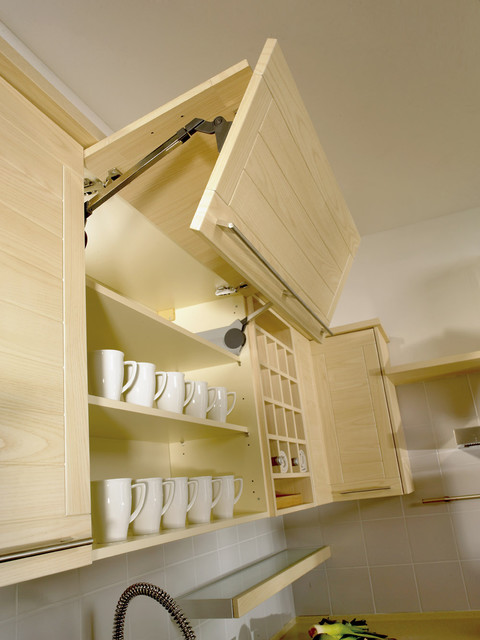Vertical Overhead Cupboard with Joint Fold Lift Mechanism - Modern ...