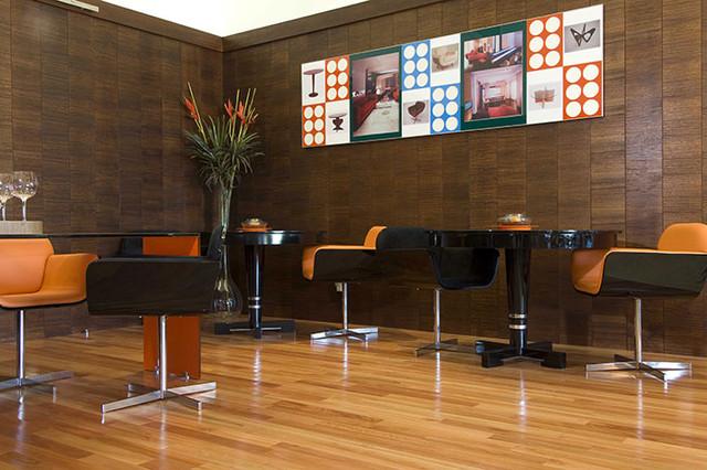 Lyptus floor contemporary-hardwood-flooring