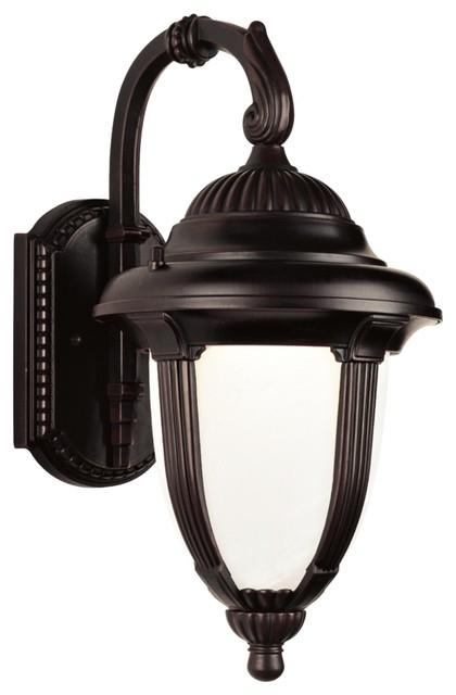 """Traditional Casa Sorrento™ 23"""" High Bronze Outdoor Wall Light traditional-outdoor-lighting"""