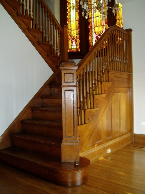 Historic Hardwood Restoration Cincinnati traditional-wood-flooring