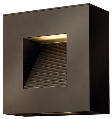 Luna Square Outdoor Wall Sconce - contemporary - outdoor lighting ...