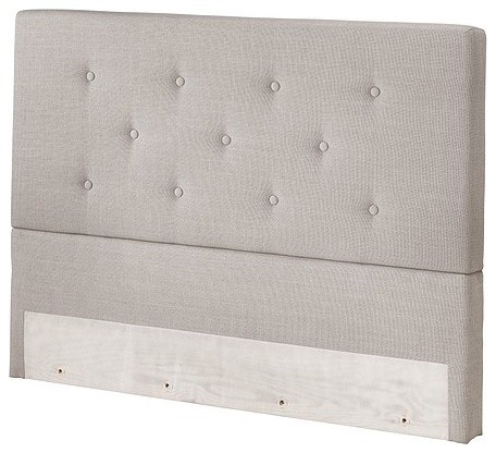 Bekkestua Headboard, Light Gray - traditional - headboards ...