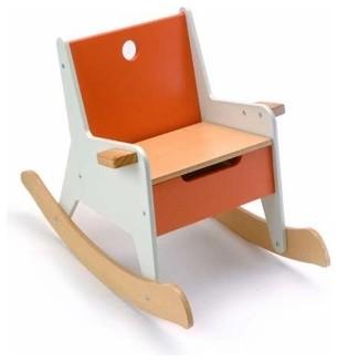 Rockabye Storage Rocker | Offi contemporary-kids-chairs