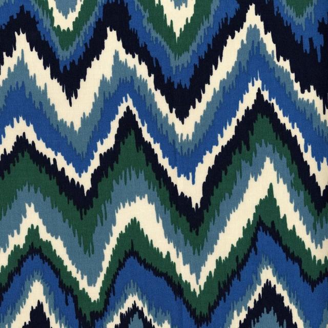 Zikat Fabric, Indigo eclectic-fabric