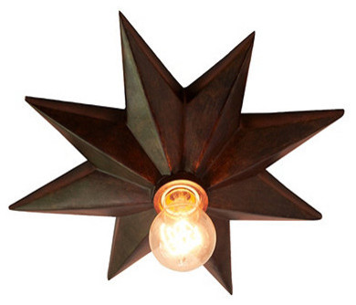 Star Ceiling Mount by Ballard Designs eclectic ceiling lighting