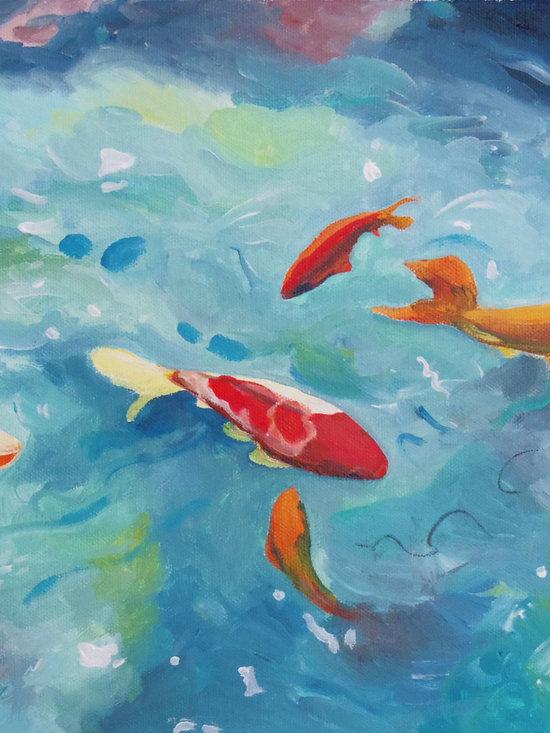 Fine Art- Paintings of Fish -
