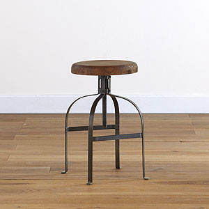 Twist Swivel Stool | Dining Room Furniture| Furniture | World Market traditional-footstools-and-ottomans