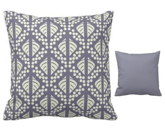 """Kent"" Print Reversible Pillow -"