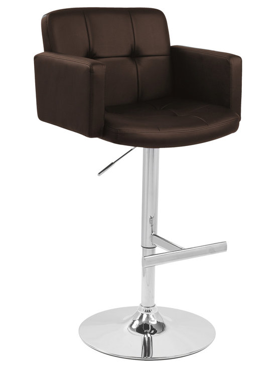 Stout Bar Stool - BROWN