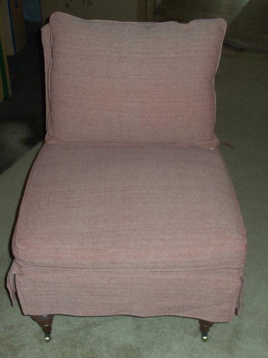 Customer Custom Orders - Robin Bruce - Travers Slipcover Chair