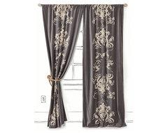 Viceroy Velvet Curtain traditional-curtains