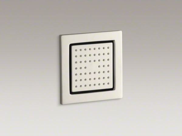 KOHLER WaterTile(R) square 54-nozzle bodyspray with soothing spray contemporary-showerheads-and-body-sprays