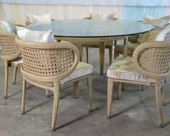 Outdoor Dining Arm chair - hallsol furniture
