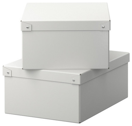 KNATA Box with lid for paper modern-storage-bins-and-boxes