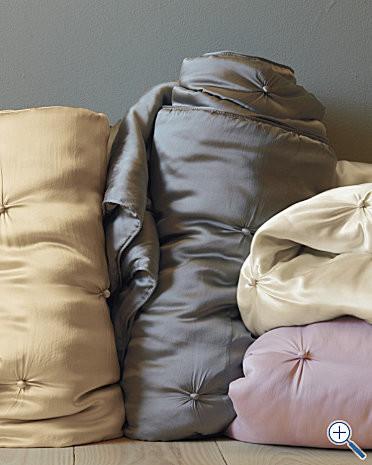 Eileen Fisher Seasonless Silk Comforter contemporary-duvet-covers