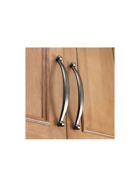 Crescent Pull - Add charm to your cabinetry with our decorative hardware. Also available as a knob.