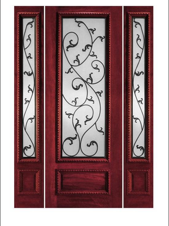 IR Iron Insulated Entry Doors Model  # 734 -