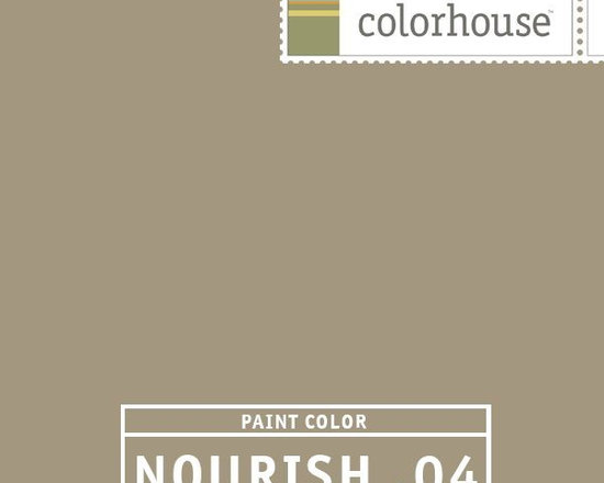 Colorhouse NOURISH .04 - Colorhouse NOURISH .04: Like a warm Café Au Lait. Rugged sophistication. Surround yourself in suede. Use in dens, libraries and great rooms.