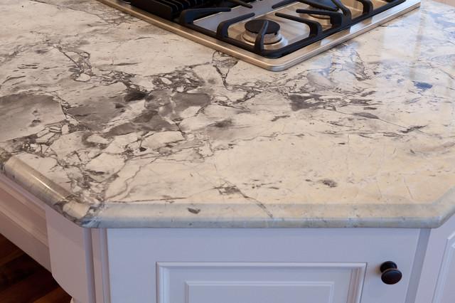 Super White Quartzite Modern Kitchen Countertops Dc