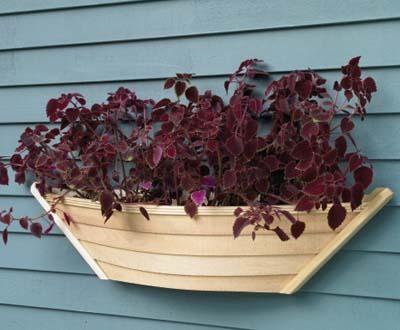 Dory Half Planter or Window Box traditional-window-treatments