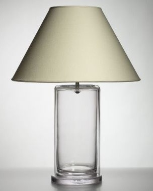 Simon Pearce Nantucket Glass Table Lamp - Garnet Hill contemporary-table-lamps