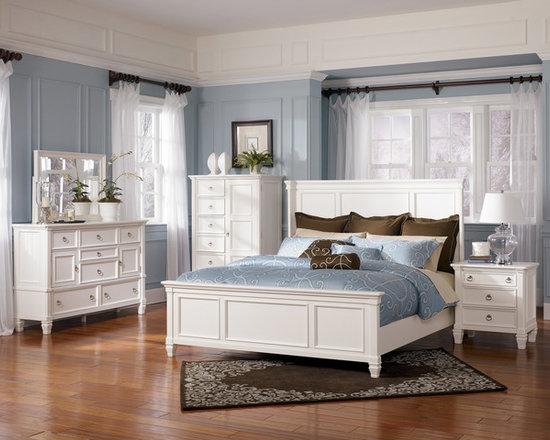 Bedrooms Furniture - Prentice Cottage White Bedroom Set