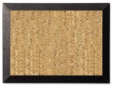 MasterVision 24 x 18 in. Natural Cork Bulletin Board modern-bulletin-board