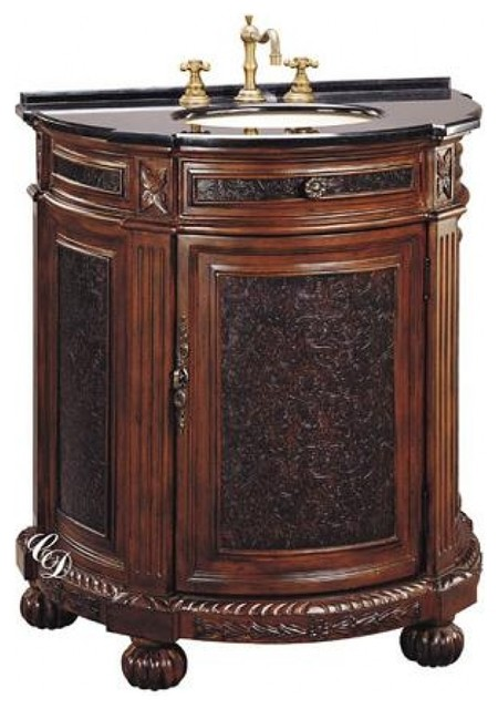 29 inch single sink bathroom vanity traditional