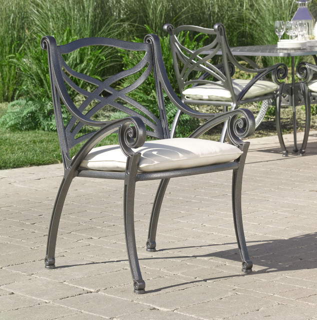 Outdoor Patio Furniture Toronto: Hauser Hampton Cast Aluminum Dining Outdoor Patio