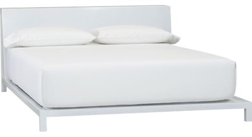 Alpine White Bed modern beds