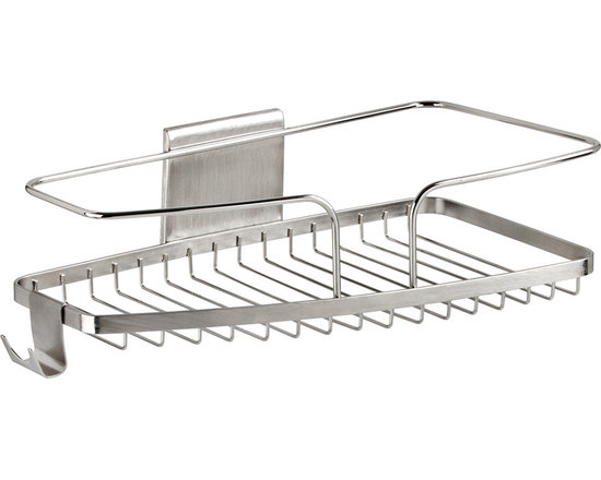Better Living Products - FineLine Large Shower Basket - After scoring this winning basket, you'll be ready to hit the showers. The polished caddy shines like a superstar and works like a pro, allowing slam-dunk storage for all your bath basics in one convenient location.