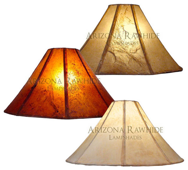 rawhide lamp shade extra large lamps size 12 h x 23 w 6 w top traditional lamp shades. Black Bedroom Furniture Sets. Home Design Ideas