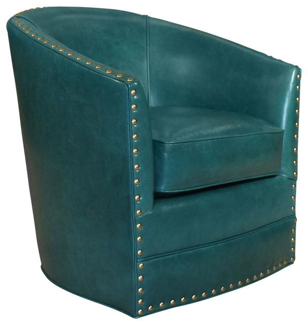 Peacock blue leather swivel chair peacock contemporary office chairs