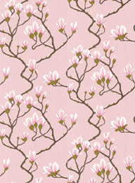 Magnolia Wallpaper-pink - Wallpaper - by Cole & Son: houzz.com/uk/photos/3763776/magnolia-wallpaper-pink-wallpaper